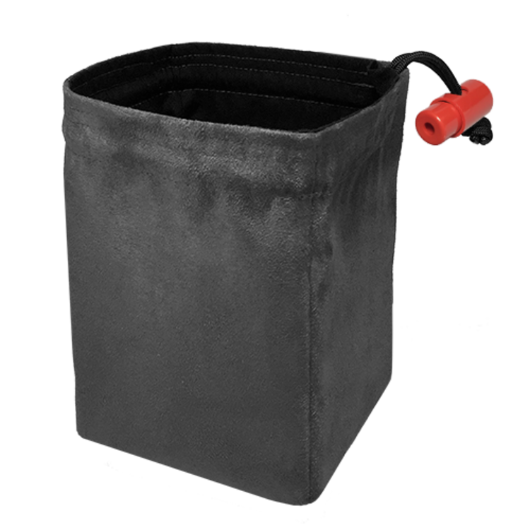 Red King Red King Dice Bag: Classic Gray