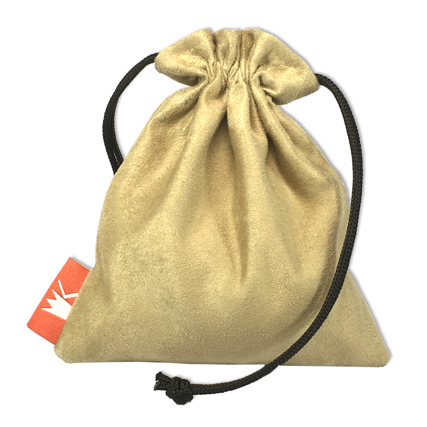 Red King Red King Dice Pouch: Tan