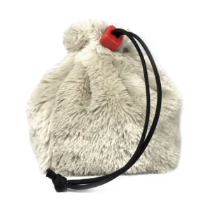 Red King Dice Bag: Fur (Polar Bear)