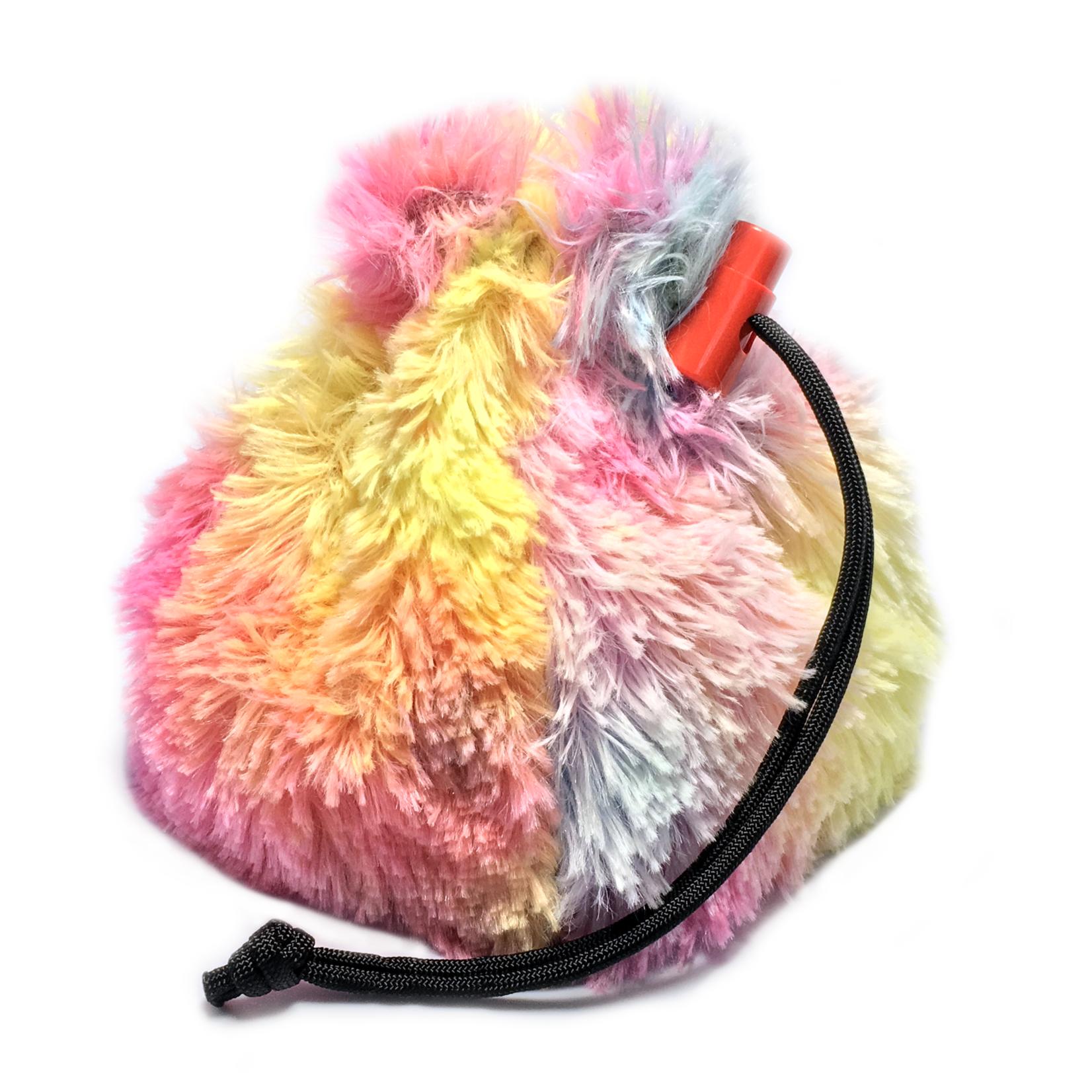 Red King Dice Bag: Fur (Unicorn Mane)
