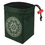 Red King Dice Bag: Alchemy Medallion (Glow in the Dark)