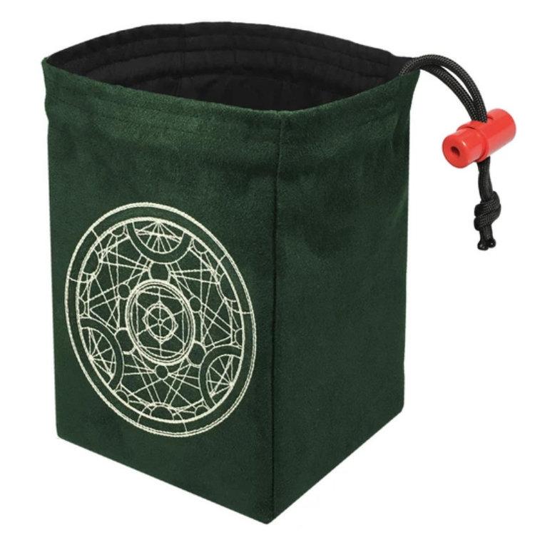 Red King Dice Bag: Alchemy Medallion (Glow in the Dark)