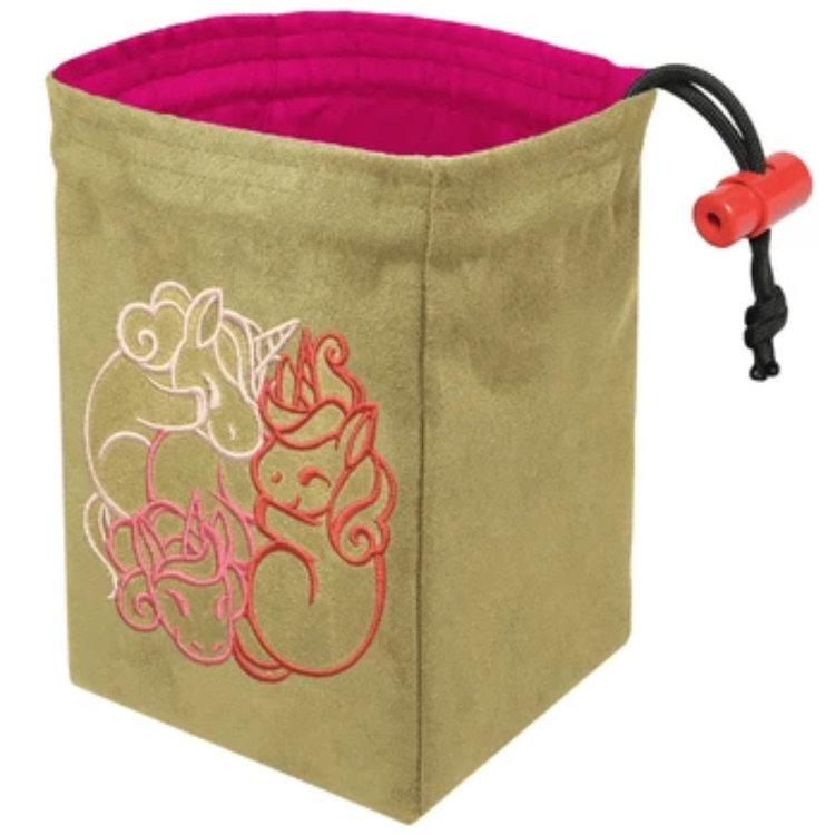 Red King Dice Bag: Fantasticute Unicorns