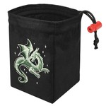 Red King Dice Bag: Celestial Dragon (Glow in the Dark)