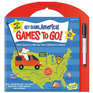 Peaceable Kingdom Get Going America Games To Go