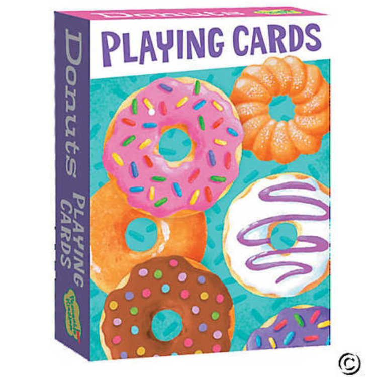 Peaceable Kingdom Peaceable Kingdom: Donuts Playing Cards