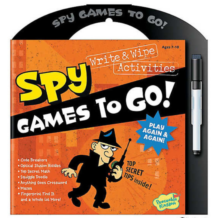 Peaceable Kingdom Spy Games To Go