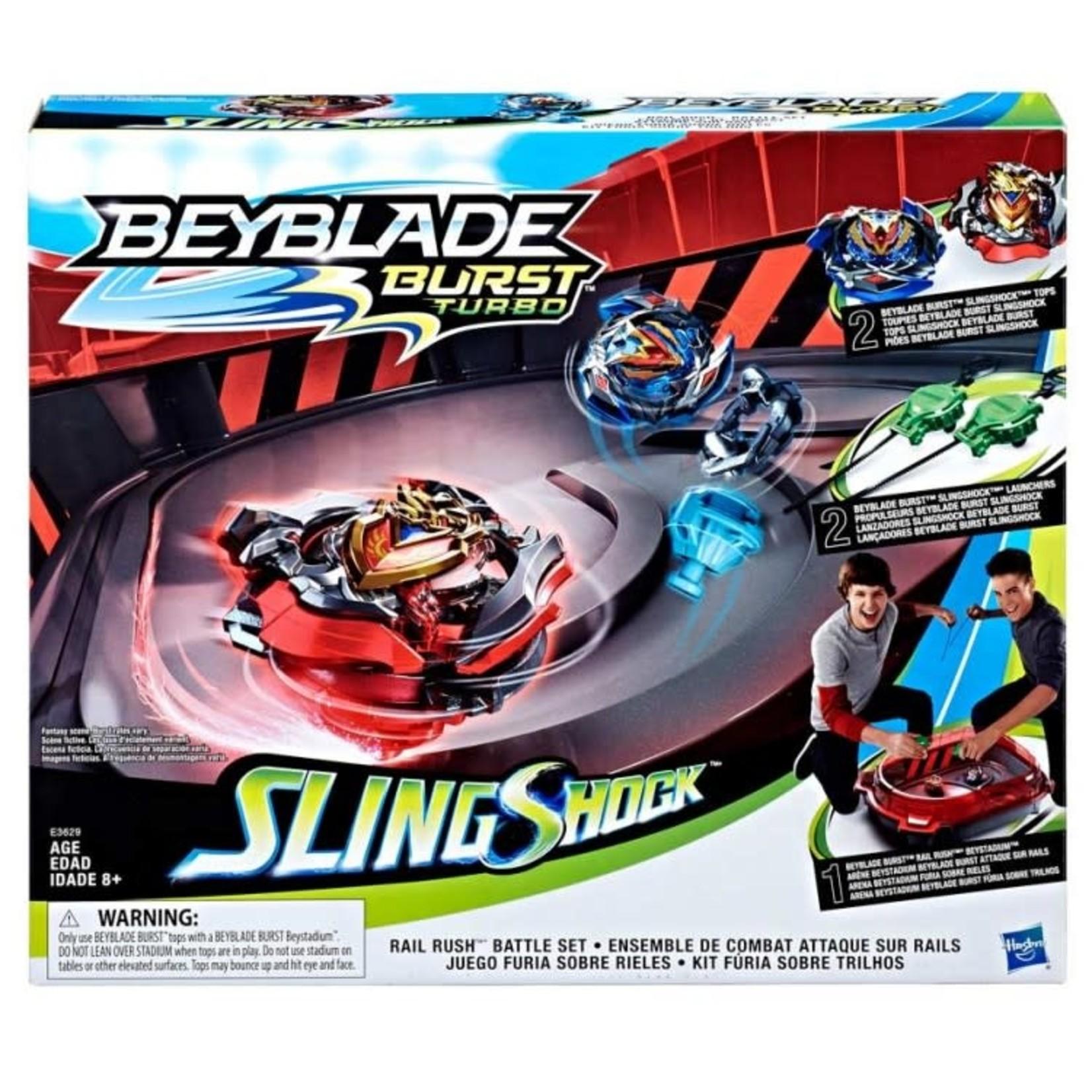 Hasbro Beyblade: Rail Rush Battle Set