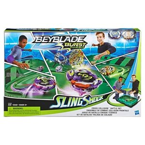 Hasbro Beyblade: Double Barrel Slingshot Set