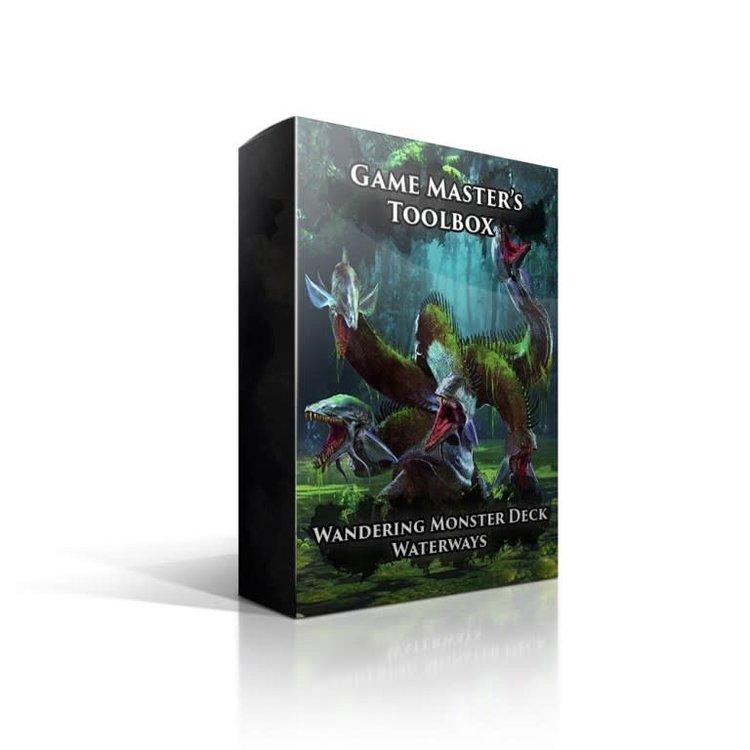 Nord Games Wandering Monsters Deck: Waterways (5E)
