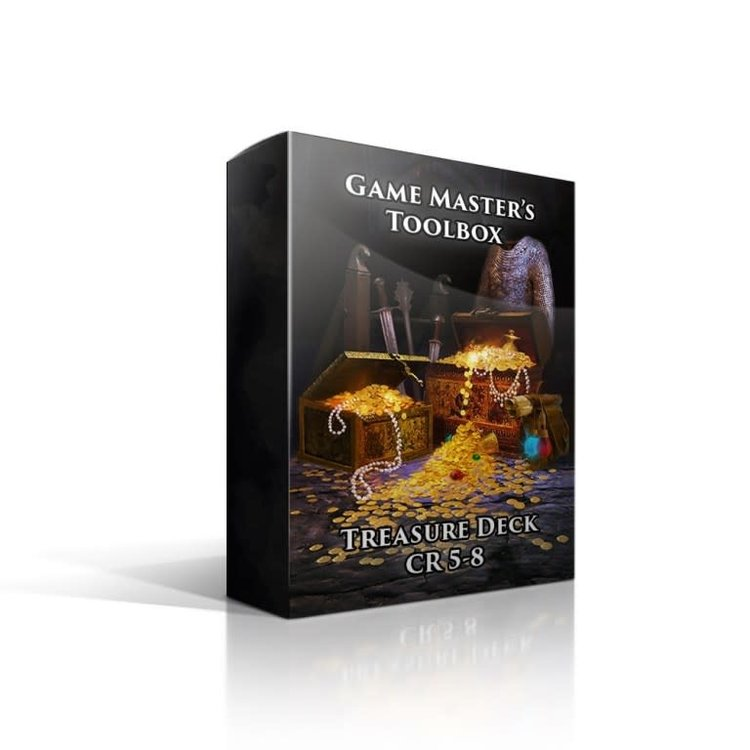 Nord Games Treasure Deck CR 5-8