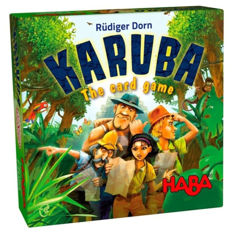 Haba Karuba: The Card Game
