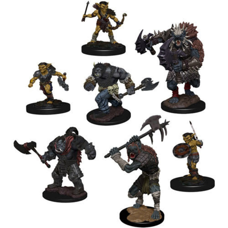 WizKids Dungeons and Dragons Icons of the Realms Monster Pack: Village Raiders