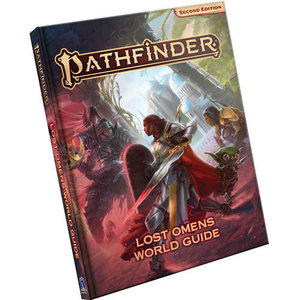Paizo Pathfinder Second Edition: Lost Omens World Guide Hardcover
