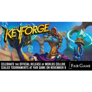 Fantasy Flight Games Admission: Keyforge Worlds Collide Sealed Release Event - (Downers Grove 12-4 PM)