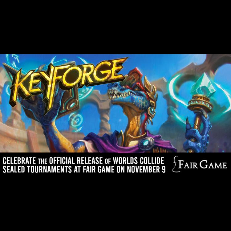 Fantasy Flight Games Admission: Keyforge Worlds Collide Sealed Release Event - (La Grange 5-9 PM)