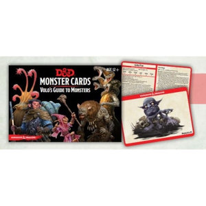 GaleForce9 Dungeons and Dragons 5th Edition: Monster Cards - Volo's Guide to Monsters