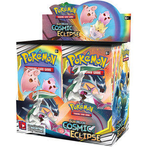 Pokemon International Pokemon: Sun & Moon Cosmic Eclipse Booster Box