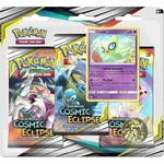 Pokemon International Pokemon Trading Card Game: Cosmic Eclipse 3-Booster Blister