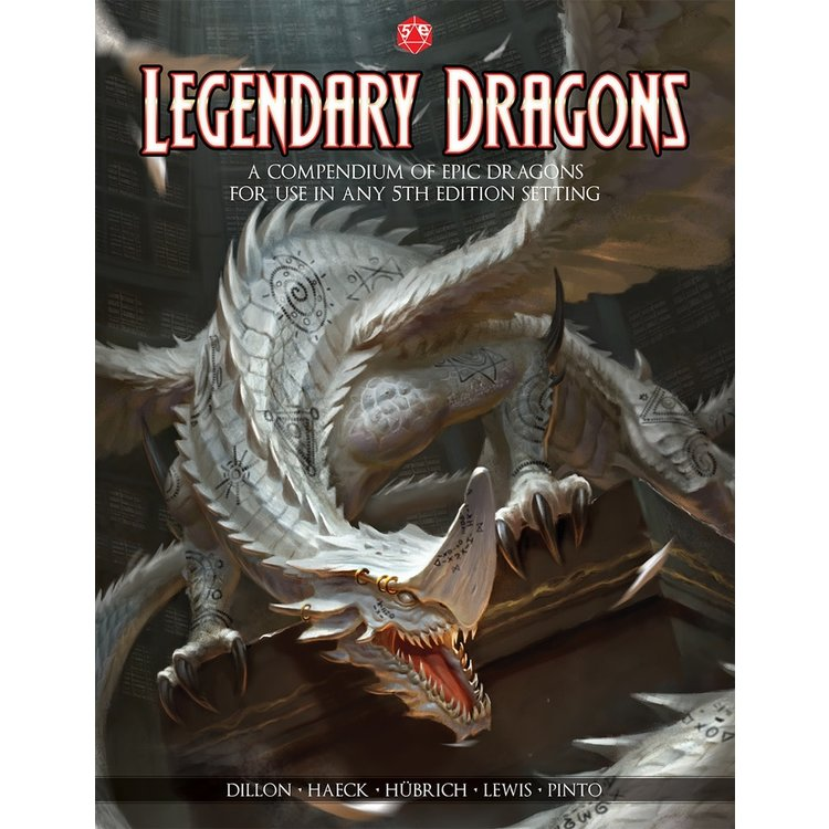JetPack 7 Legendary Dragons - 5th Edition Dungeons & Dragons Supplement