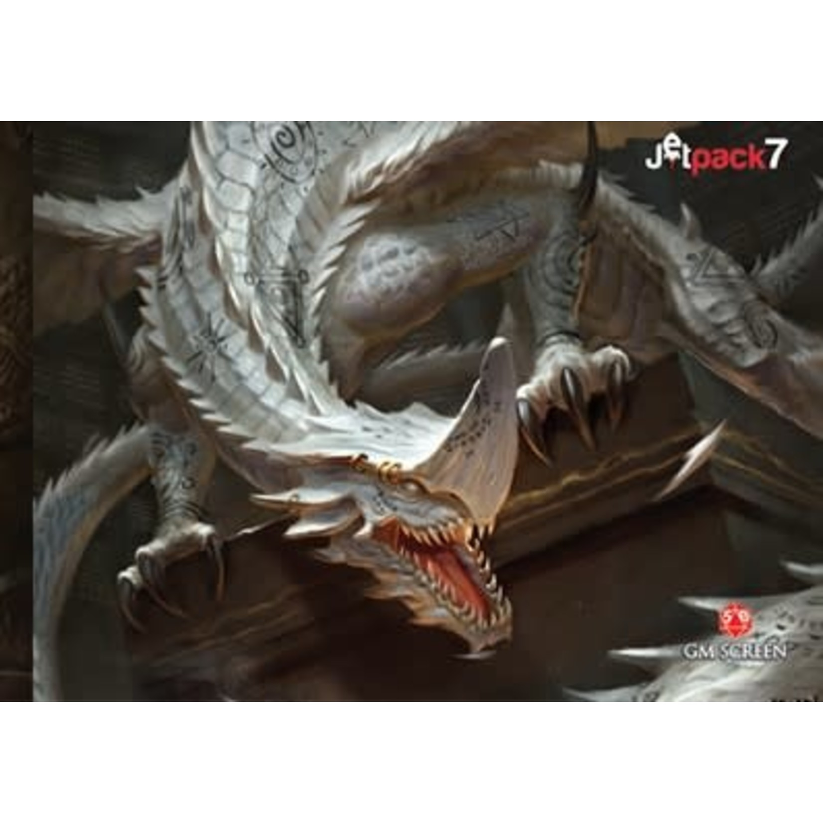 JetPack 7 Legendary Dragons - Fifth Edition D&D Game Master Screen