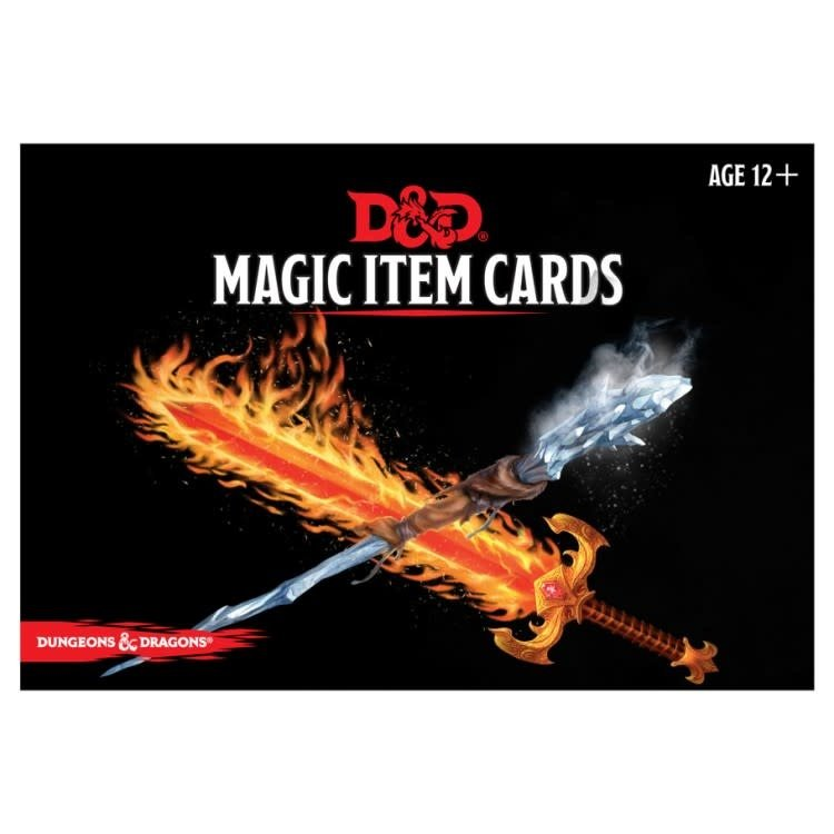 GaleForce9 Dungeons & Dragons 5th Edition Magic Item Cards