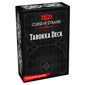 GaleForce9 Dungeons and Dragons 5th Edition: Spell Cards - Curse of Strahd Tarokka Deck
