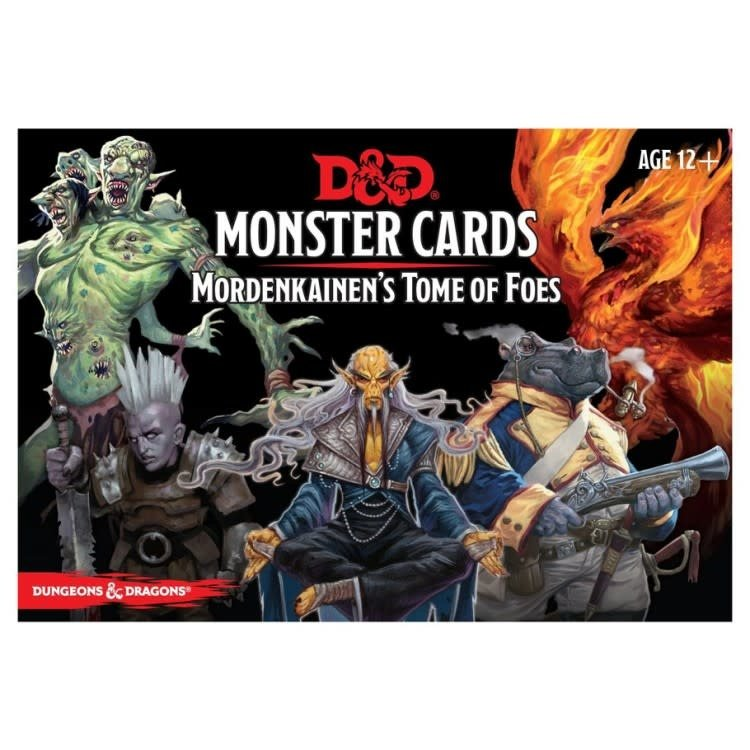 GaleForce9 Dungeons and Dragons 5th Edition: Monster Cards - Mordenkainens