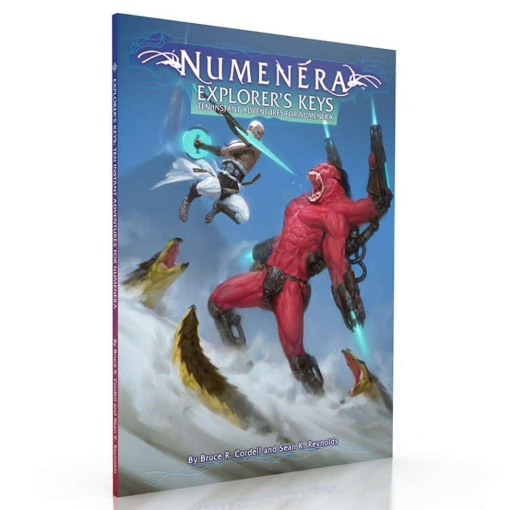 Monte Cook Numenera: Explorer's Keys - Ten Instant Adventures