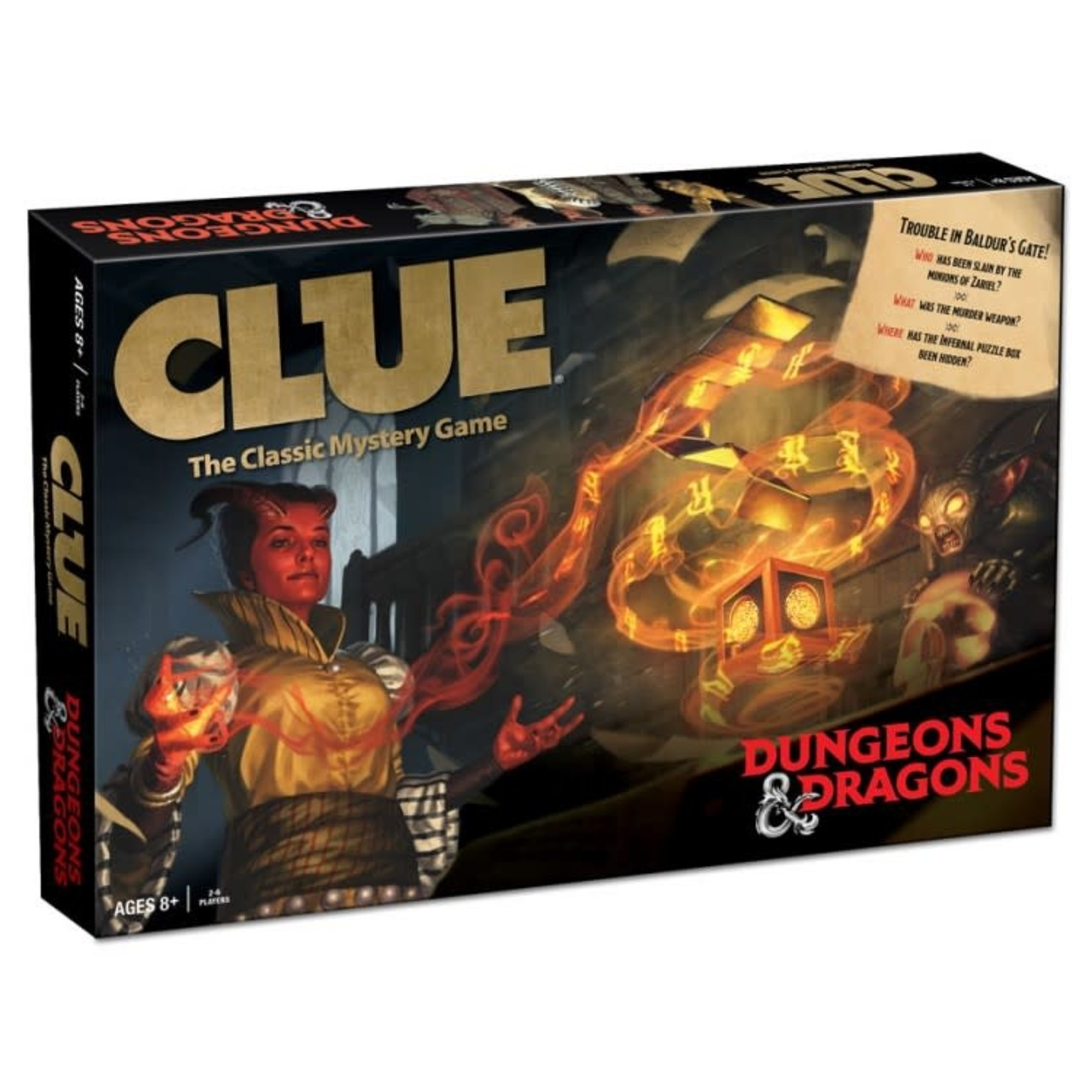 USAoploy Clue: Dungeons & Dragons