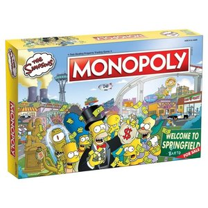 USAoploy Monopoly:  Simpsons