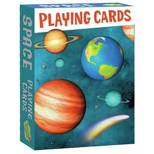 Peaceable Kingdom Peaceable Kingdom Space Playing Cards