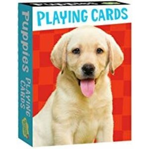 Peaceable Kingdom Peaceable Kingdom Puppies Playing Cards