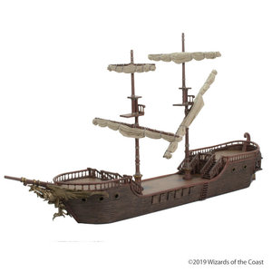 WizKids WizKids D&D Icons of the Realms Premium Figure: The Falling Star Sailing Ship