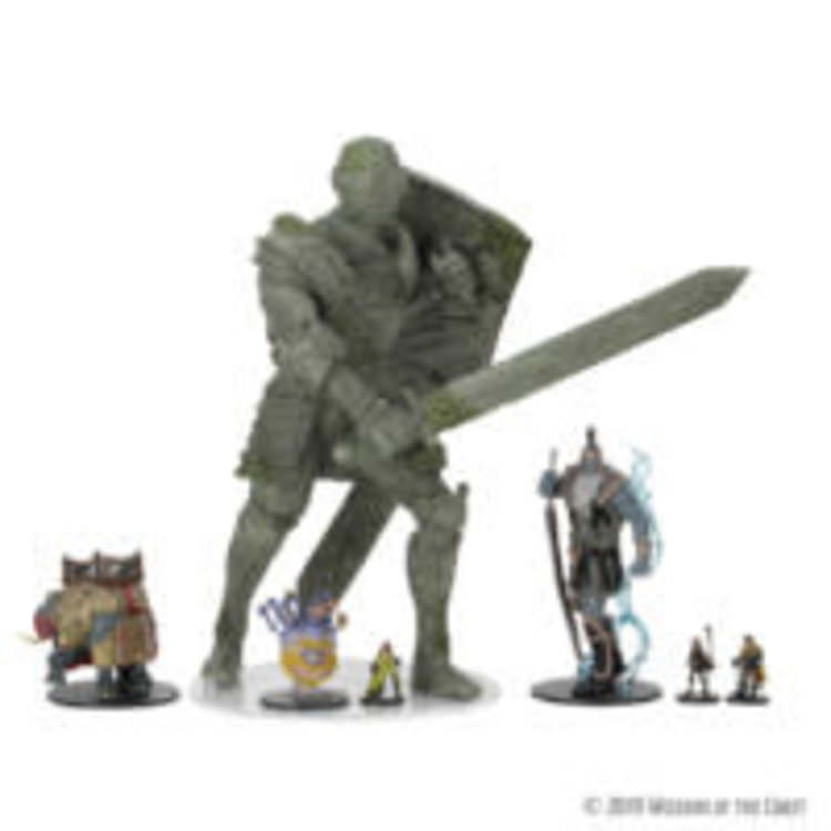 WizKids WizKids D&D Icons of the Realms Premium Figure: Walking Statue of Waterdeep – The Honorable Knight