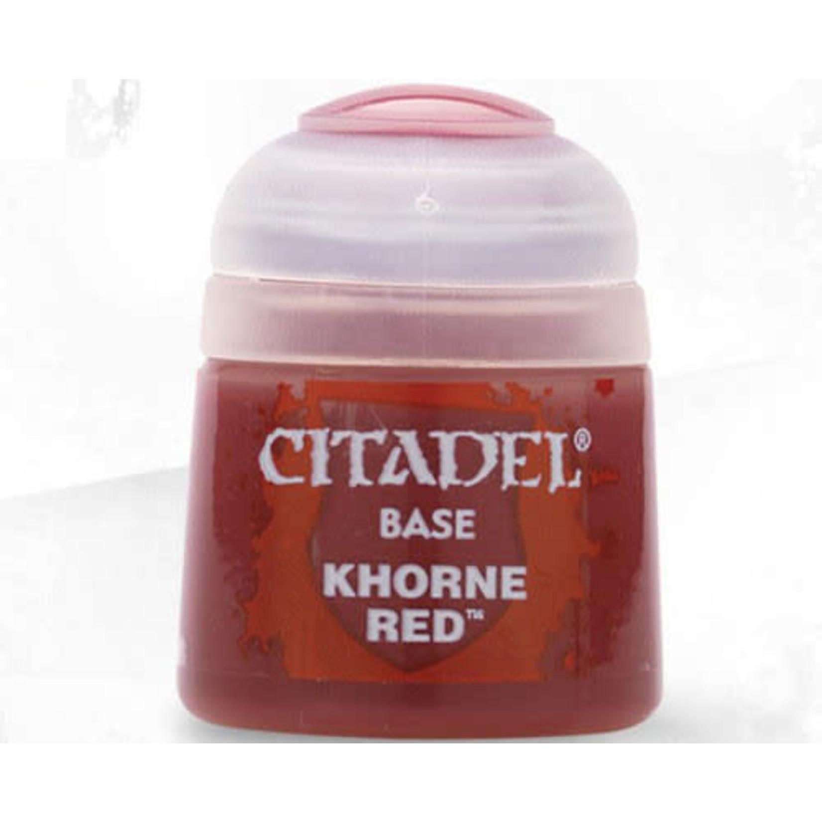 Citadel Citadel Paint - Base: Khorne Red