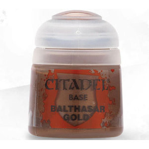 Citadel Base Paint: Balthasar Gold
