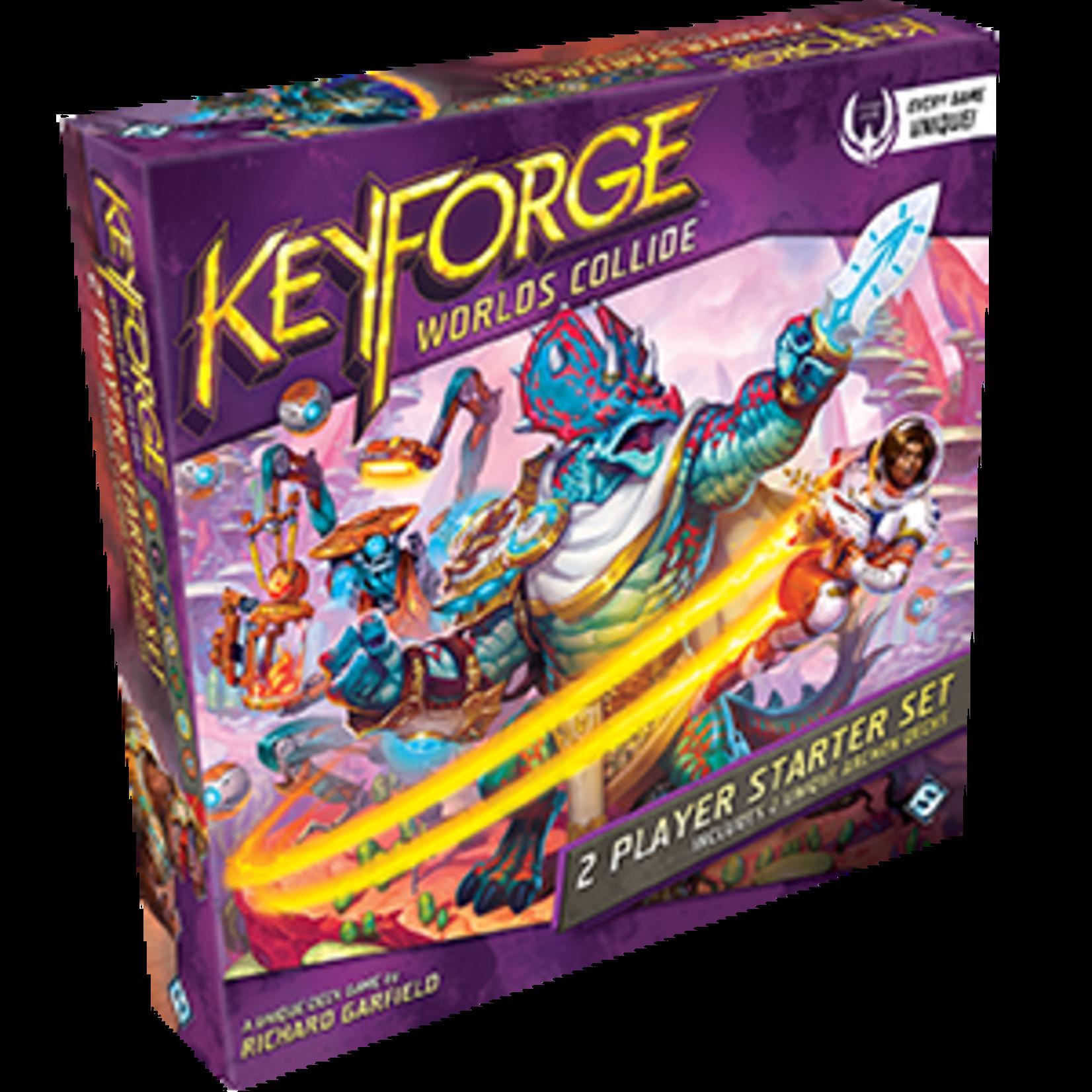 Fantasy Flight Games KeyForge: Worlds Collide Two-Player Starter Set