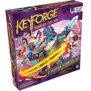 Fantasy Flight Games KeyForge: Worlds Collide Two-Player Starter Set