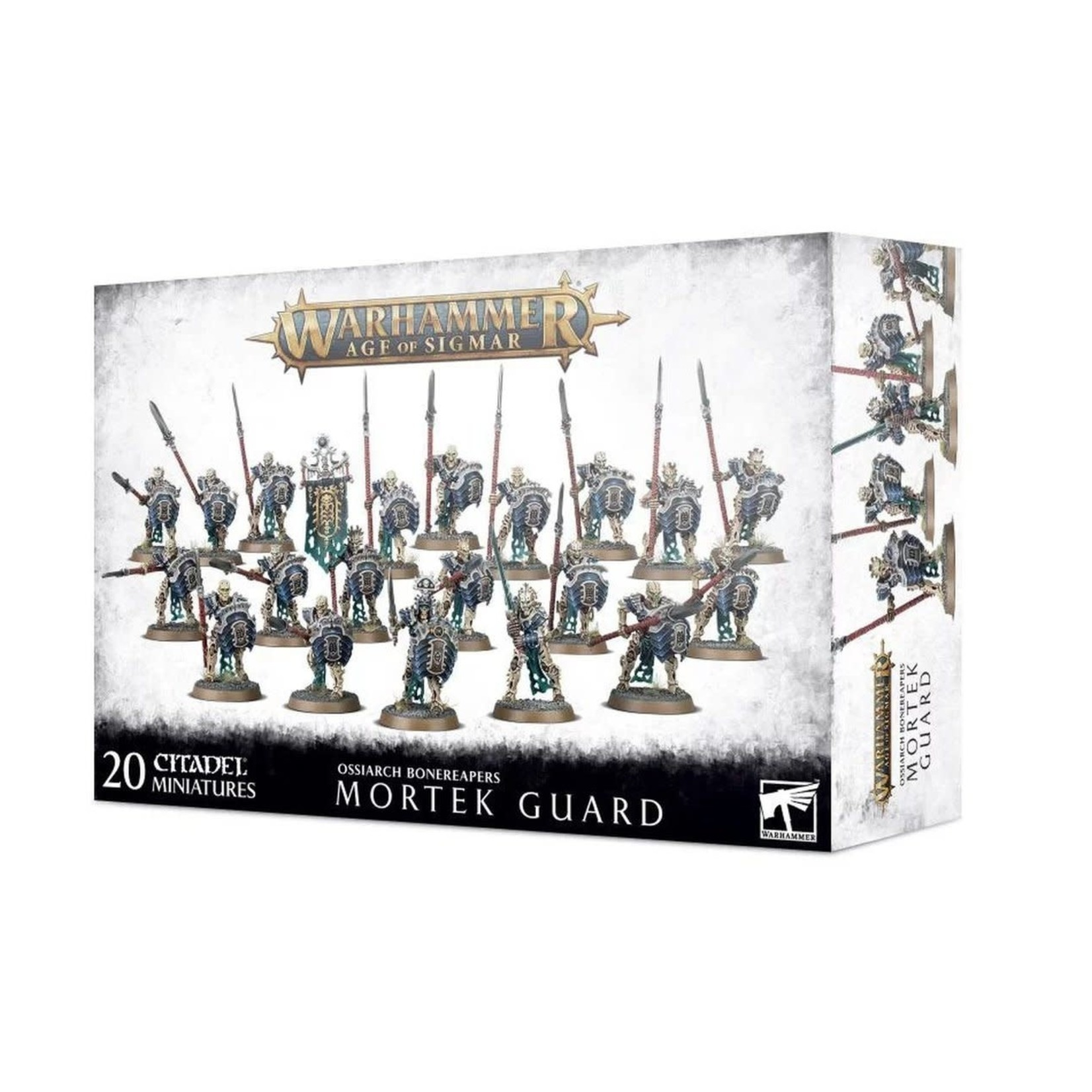 Games Workshop Warhammer Age of Sigmar: Ossiarch Bonereapers - Mortek Guard