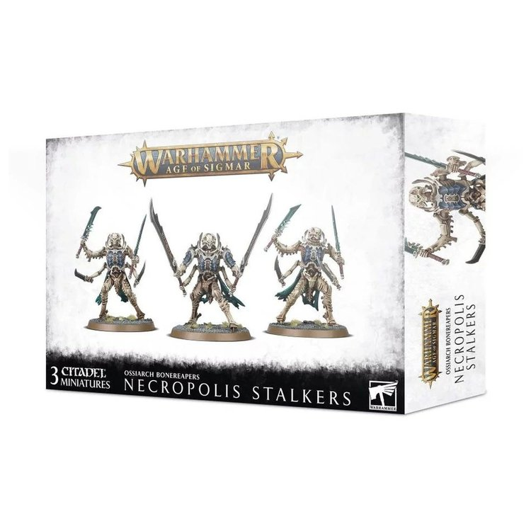 Games Workshop Warhammer Age of Sigmar: Ossiarch Bonereapers: Necropolis Stalkers