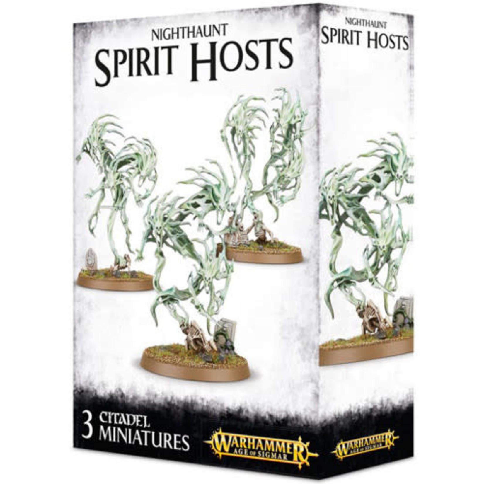 Games Workshop Warhammer Age of Sigmar: Nighthaunt: Spirit Hosts