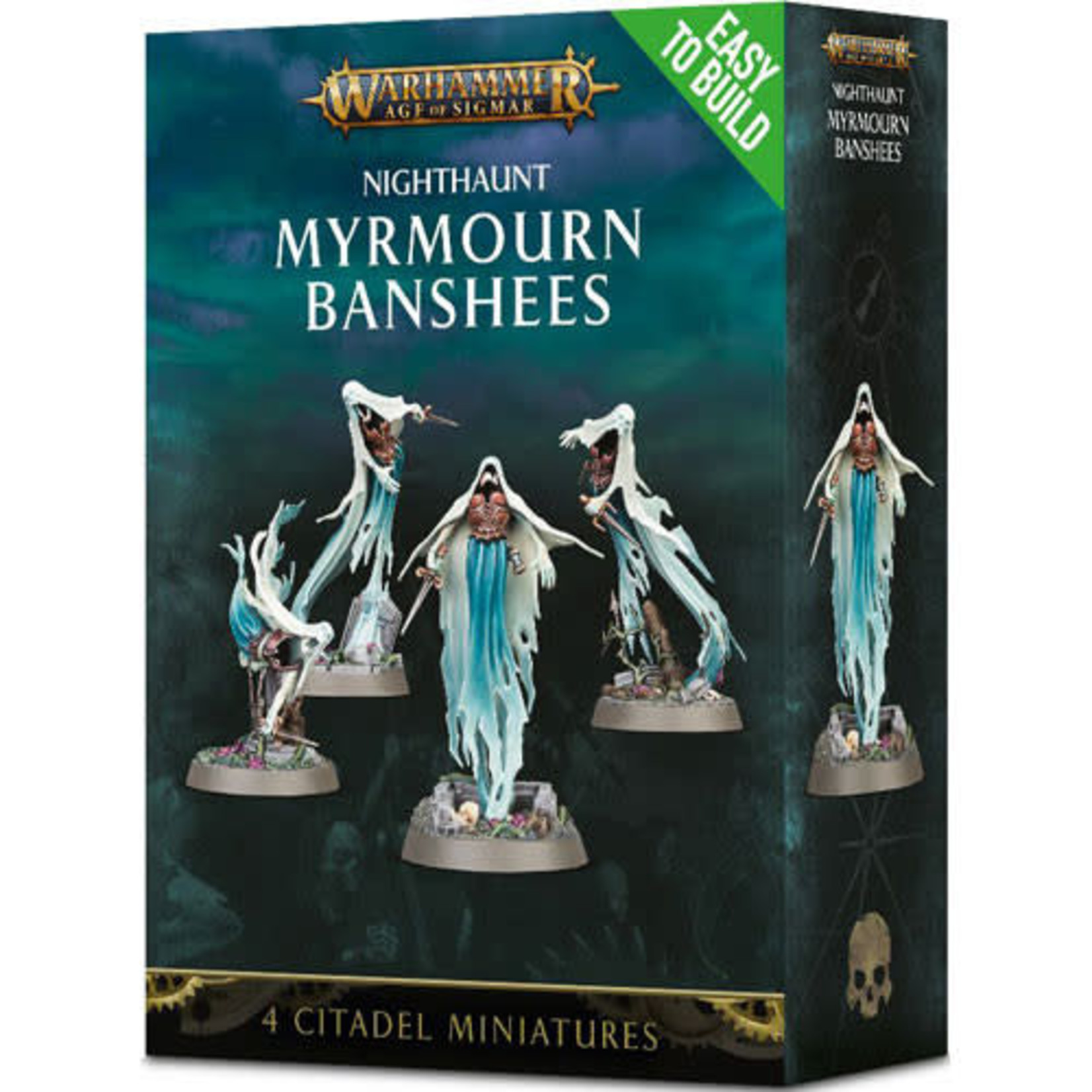 Games Workshop Warhammer Age of Sigmar: Nighthaunt Myrmourn Banshees (Easy-to-Build)