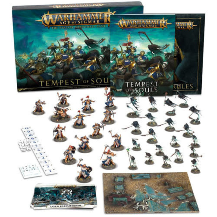 Games Workshop Warhammer Age of Sigmar: Tempest of Souls Boxed Set