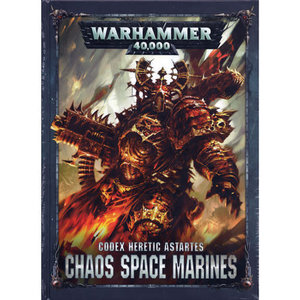 Games Workshop Warhammer 40k: Chaos Space Marines - Codex