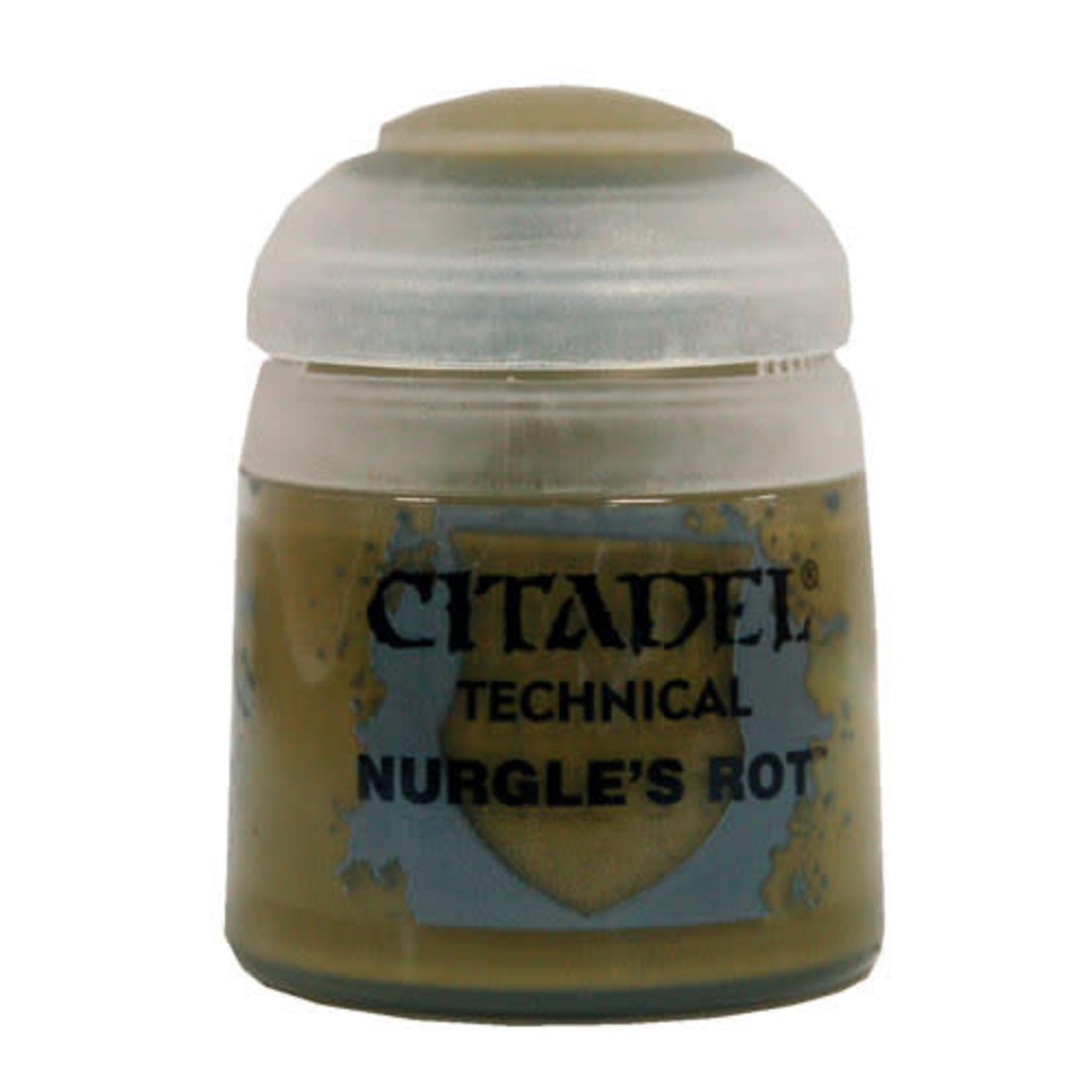 Citadel Citadel Paint - Technical: Nurgles Rot