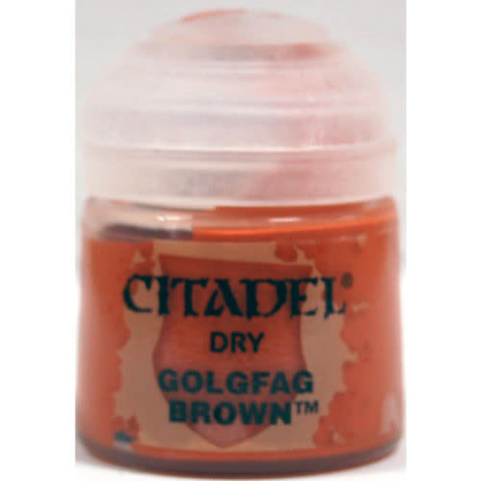Citadel Citadel Paint - Dry: Golgfag Brown