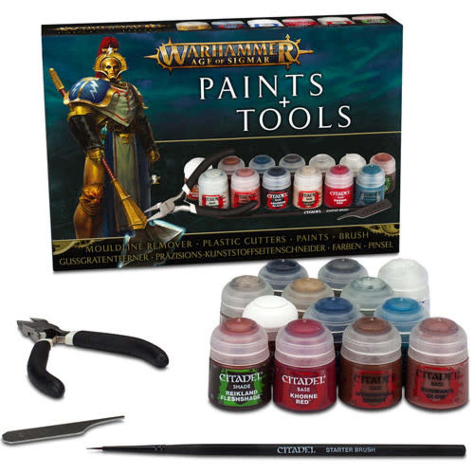 Citadel Warhammer Age of Sigmar: Paints & Tools