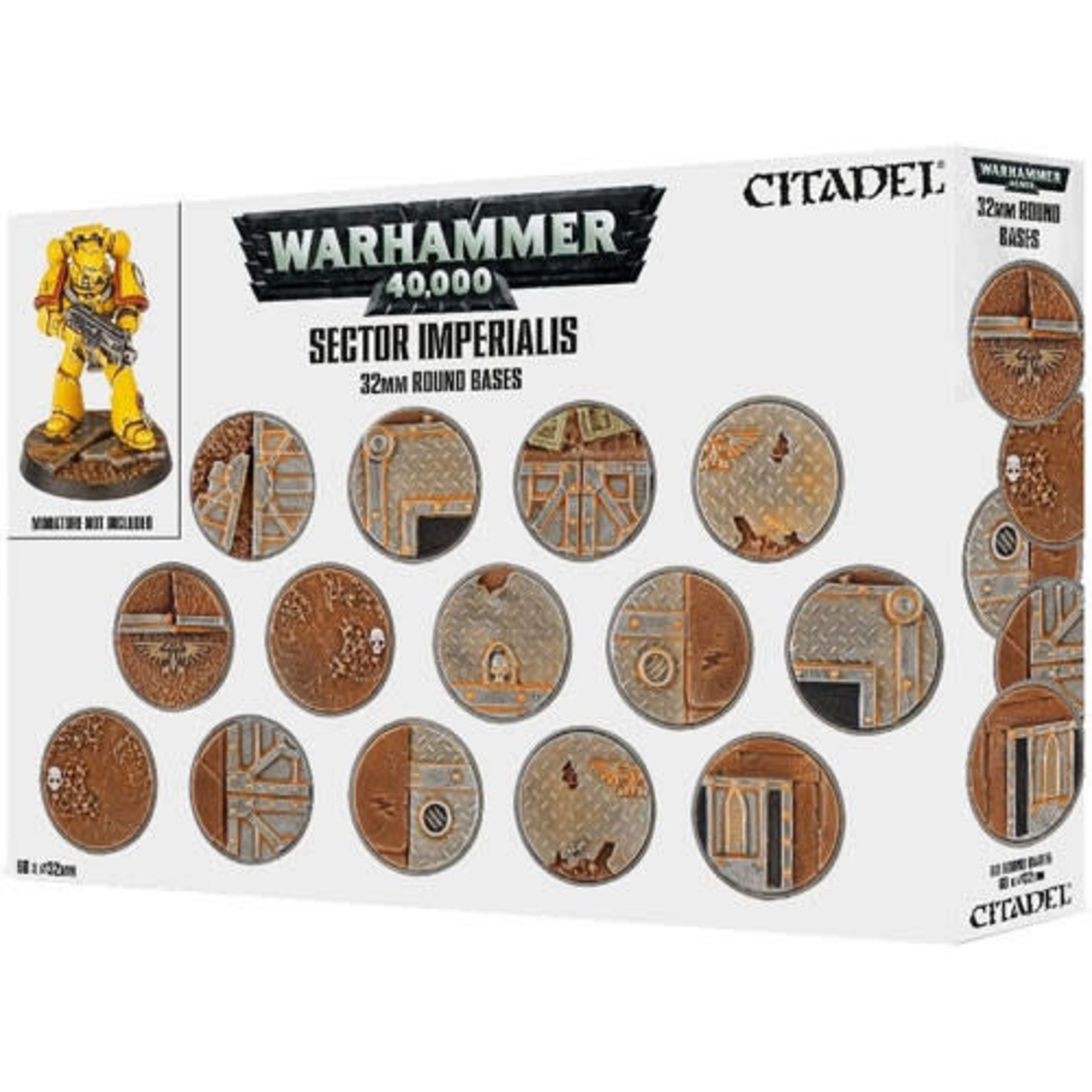 Citadel 32mm Round Bases (Sector Imperialis)