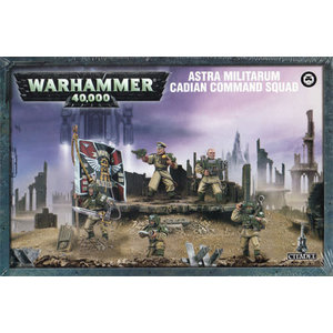 Games Workshop Cadian Command Squad